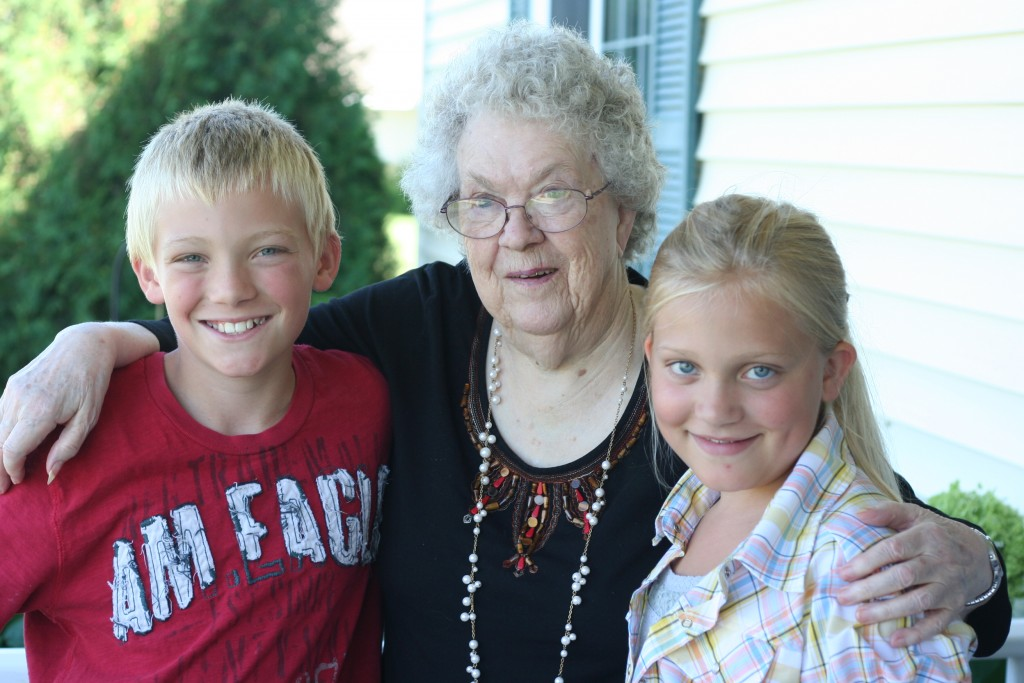 August 2011, Grandma 94 187